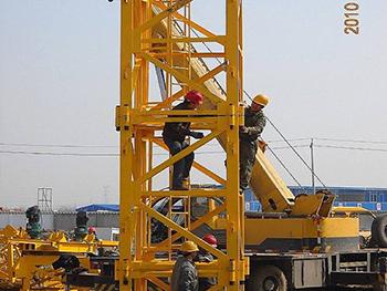 塔吊安全装置图解_工程案例-章丘市明水煜强塔机配件厂